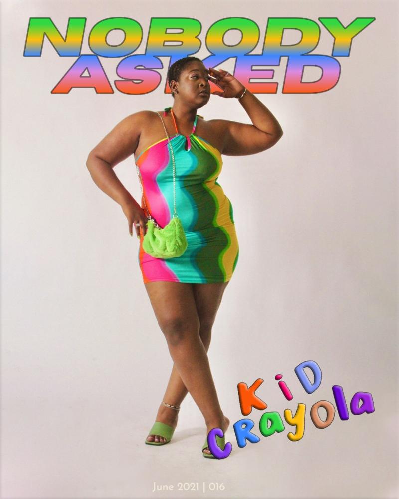 Kid Crayola June Cover